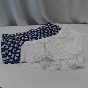 *B274  Victoria's Secret 2 Pack Sleeping Shorts